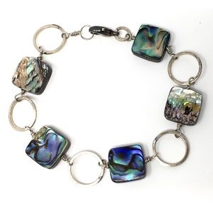 Vintage Abalone Bracelet